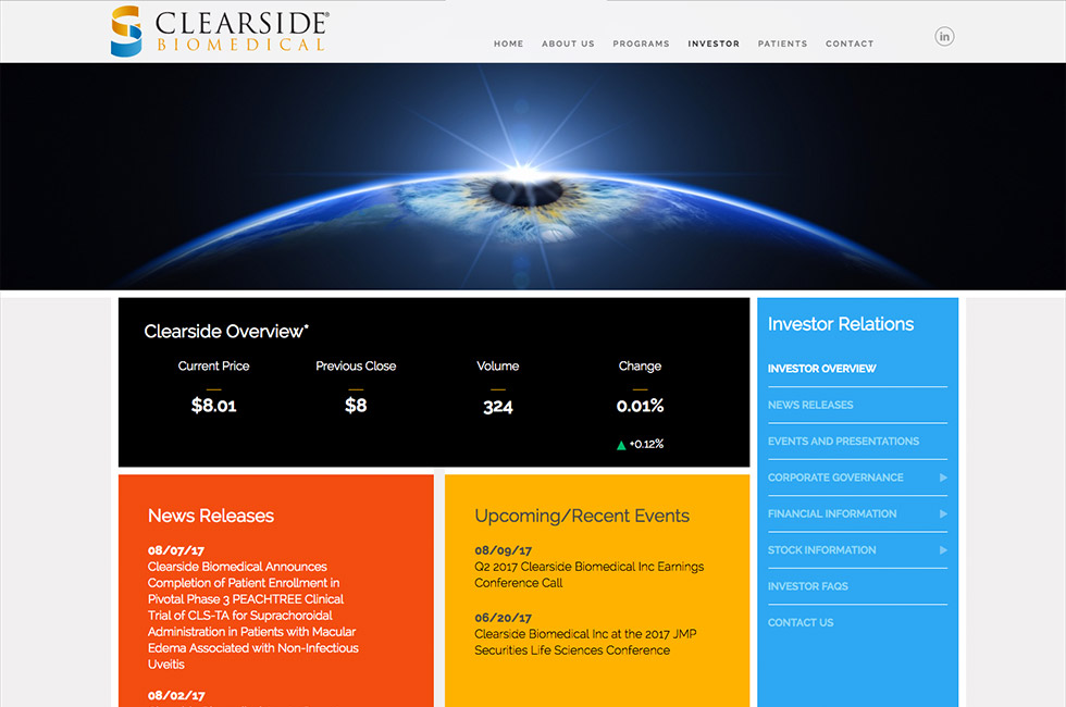 clearside bio